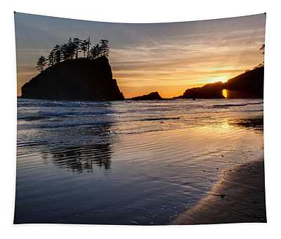 Second Beach Tranquility Tapestry