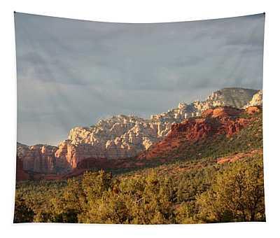 Sedona Sunshine Panorama Tapestry