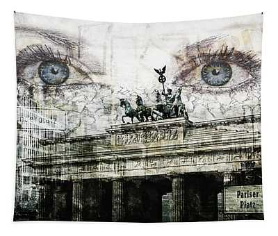 see you in Berlin Tapestry
