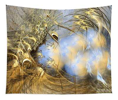 Seeds Of Peace -abstract Art Tapestry