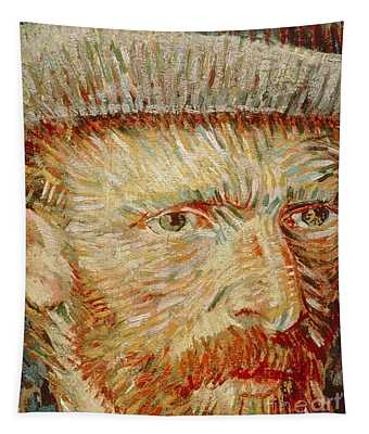 Self-portrait With Hat Tapestry