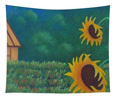 Sergi's Sunflowers Tapestry