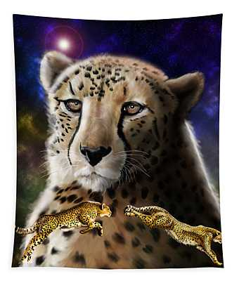 First In The Big Cat Series - Cheetah Tapestry
