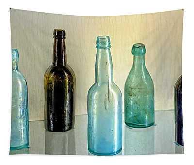 Seven Old Bottles Tapestry