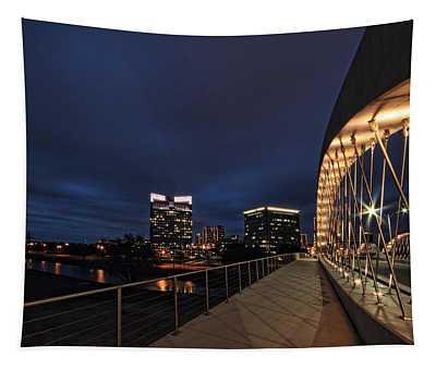 Seventh Avenue Bridge Fort Worth Tapestry