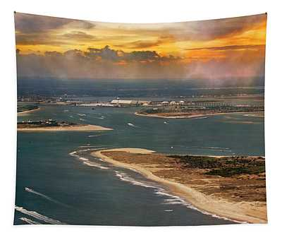 Shackleford Banks Fort Macon North Carolina Tapestry