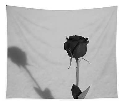 Shadow Of A Rose Tapestry