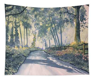 Shadows On The Setterington Road Tapestry