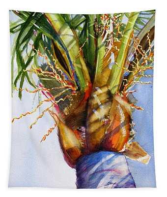 Shady Palm Tree Tapestry