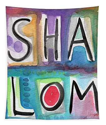 Shalom - Square Tapestry