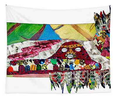 Shango Firebird Tapestry