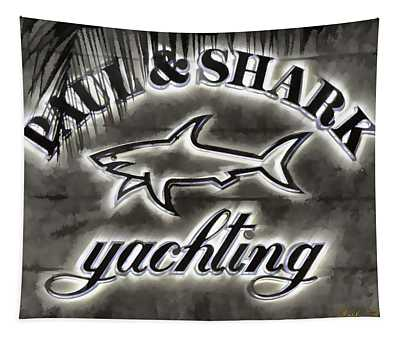 Shark Sign Tapestry