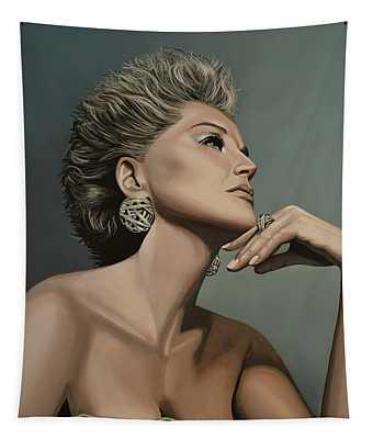 Sharon Stone Tapestry