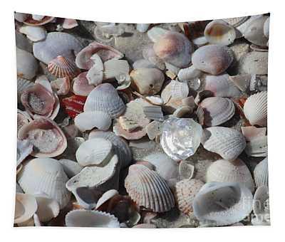 Shells On Treasure Island Tapestry
