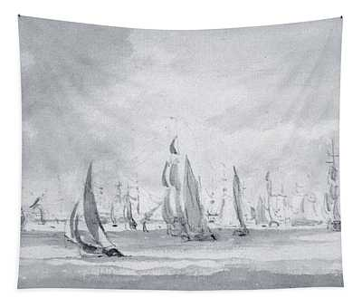 Shipping In The Thames Tapestry