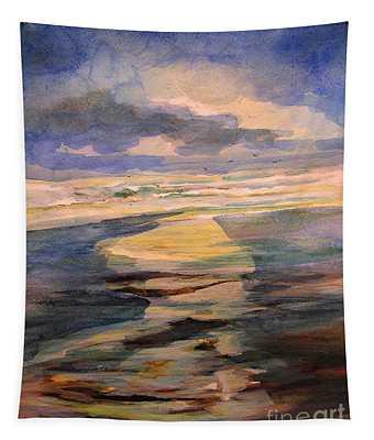 Shoreline Sunrise 11-9-14 Tapestry