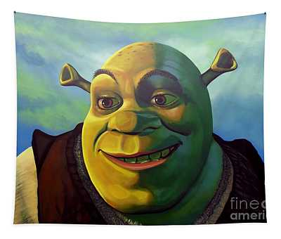 Shrek Tapestry