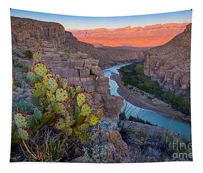 Sierra Del Carmen And The Rio Grande Tapestry