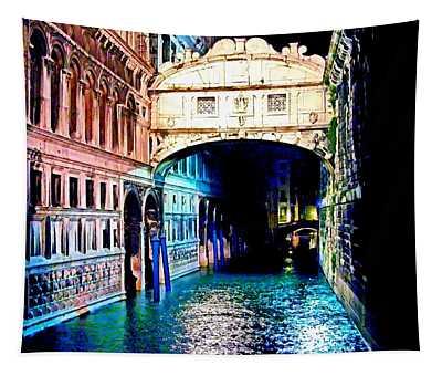 Rio Grande River Digital Art Wall Tapestries