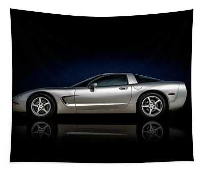 Silver C5 Tapestry