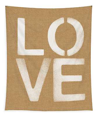 Simple Love Tapestry