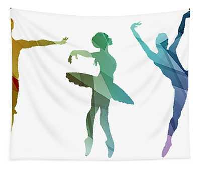 Simply Dancing 3 Tapestry