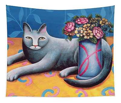 Sitting Pretty Tapestry