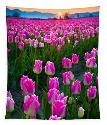 Skagit Valley Dawn Tapestry