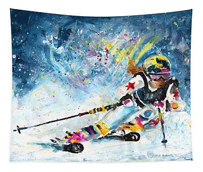 Skiing 03 Tapestry