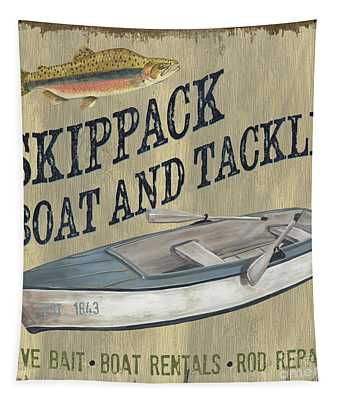 Skippack Boat And Tackle Tapestry