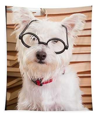 Smart Doggie Tapestry