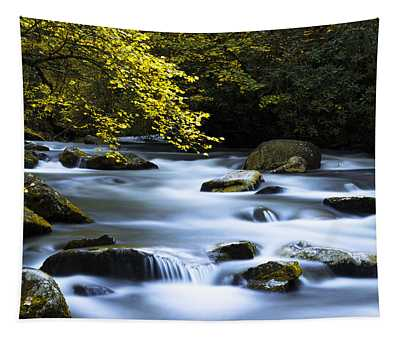 Smoky Stream Tapestry
