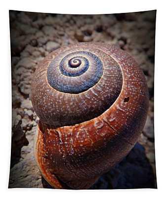 Snail Beauty Tapestry