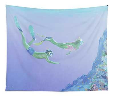Snorklers Tapestry