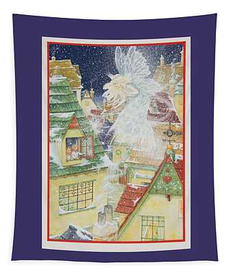 Snow Fairy Tapestry