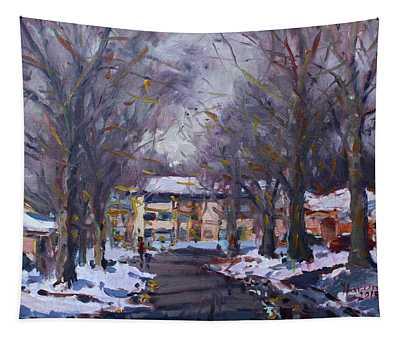 Snow In Silverado Dr Tapestry