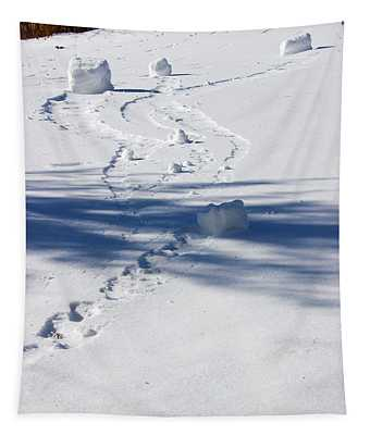 Snow Rollers Tapestry