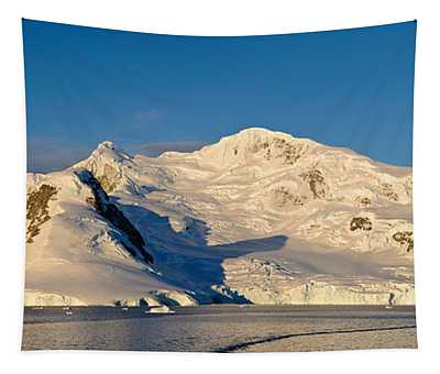 Snowcapped Mountain, Andvord Bay Tapestry