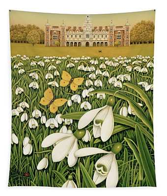 Snowdrop Day, Hatfield House Tapestry