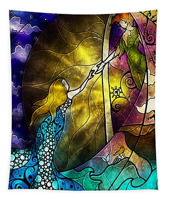 Off To Neverland Tapestry