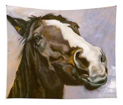 Hot To Trot Tapestry