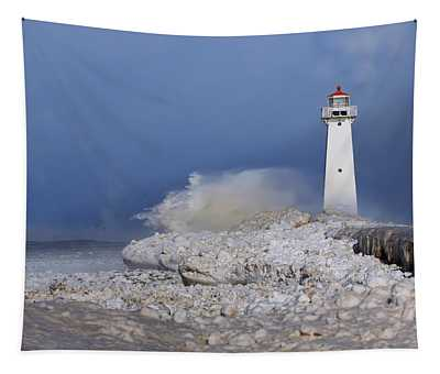 Sodus Bay Lighthouse Tapestry