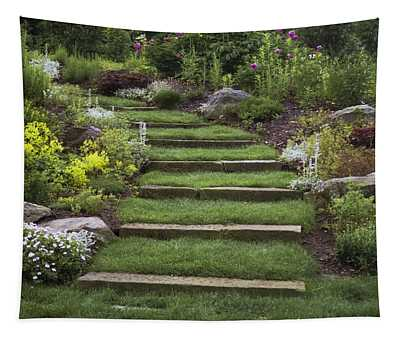 Soft Stairs Tapestry