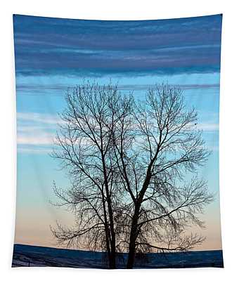 Soldier Creek Sunset Tapestry