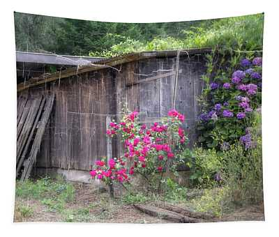 Somewhere Near Geyserville Ca Tapestry