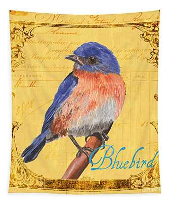 Colorful Songbirds 1 Tapestry