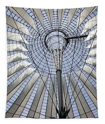 Sony Center Looking Up Tapestry