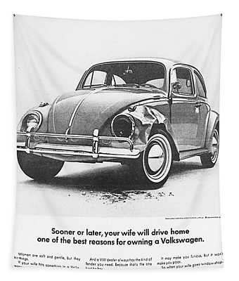 Sooner Or Later Your Wife Will Drive Home.............. Tapestry