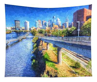 South Street Walk Tapestry