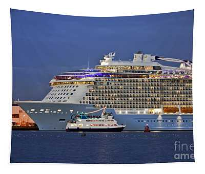 Size Matters Tapestry